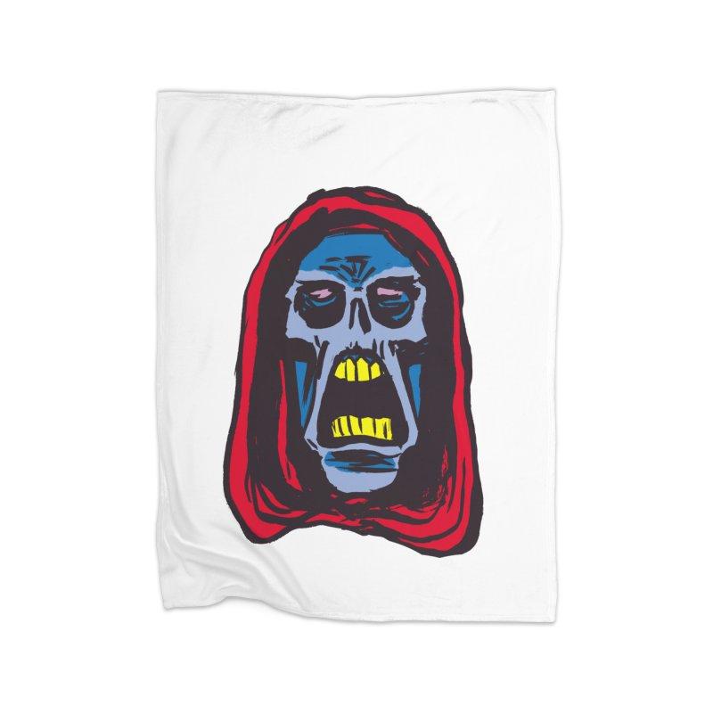 Ghoul Home Fleece Blanket Blanket by JB Roe Artist Shop