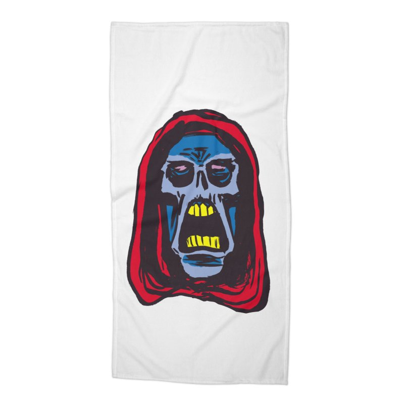 Ghoul Accessories Beach Towel by JB Roe Artist Shop
