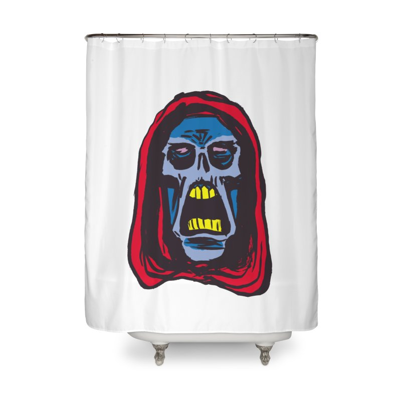 Ghoul Home Shower Curtain by JB Roe Artist Shop