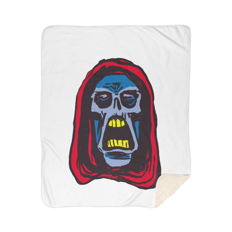 Ghoul Home Blanket by JB Roe Artist Shop