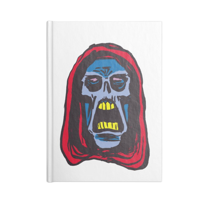 Ghoul Accessories Blank Journal Notebook by JB Roe Artist Shop