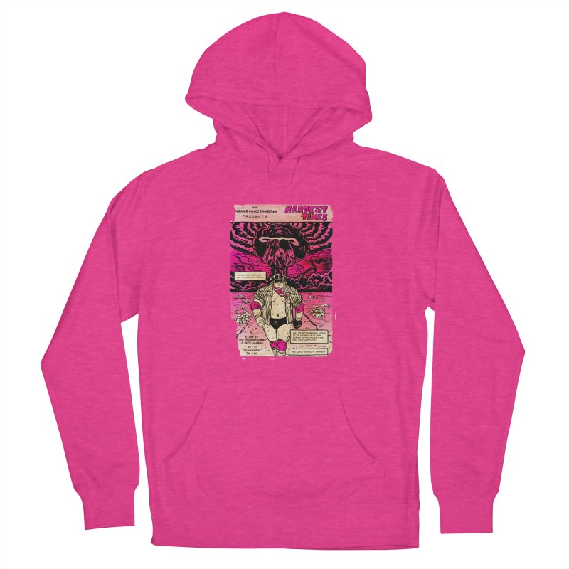 Hardest Times Women's French Terry Pullover Hoody by JB Roe Artist Shop