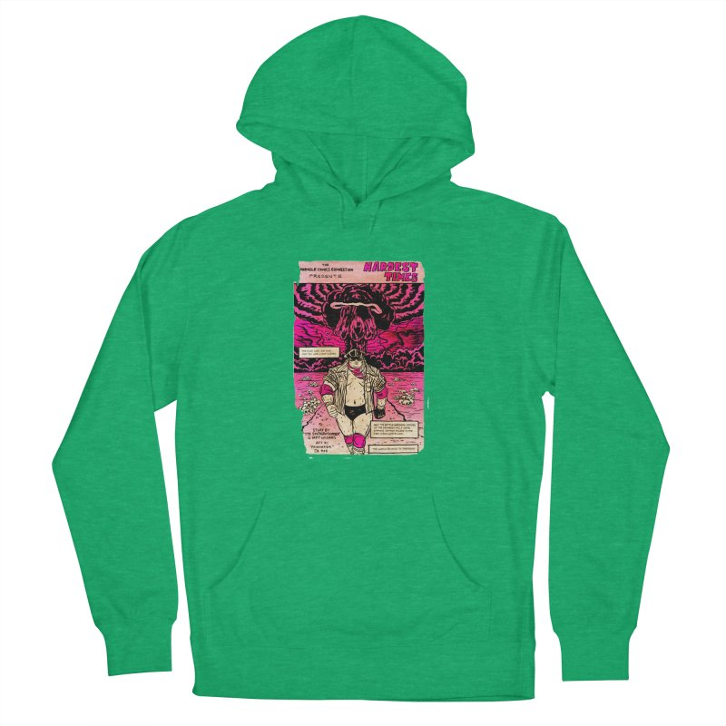Hardest Times Men's French Terry Pullover Hoody by JB Roe Artist Shop