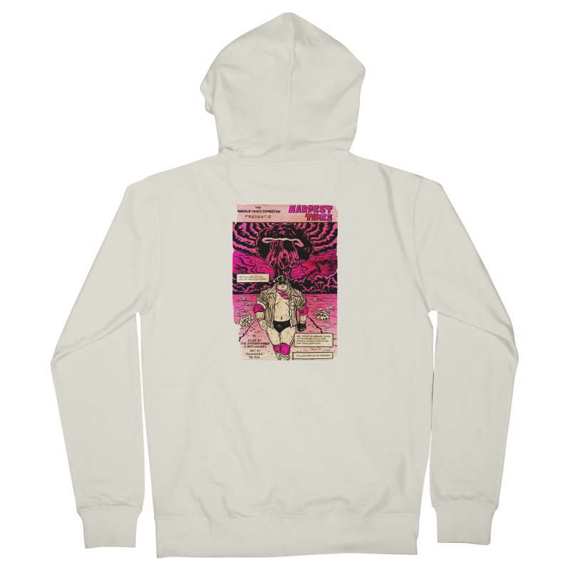 Hardest Times Men's French Terry Zip-Up Hoody by JB Roe Artist Shop