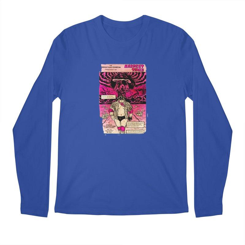 Hardest Times Men's Regular Longsleeve T-Shirt by JB Roe Artist Shop