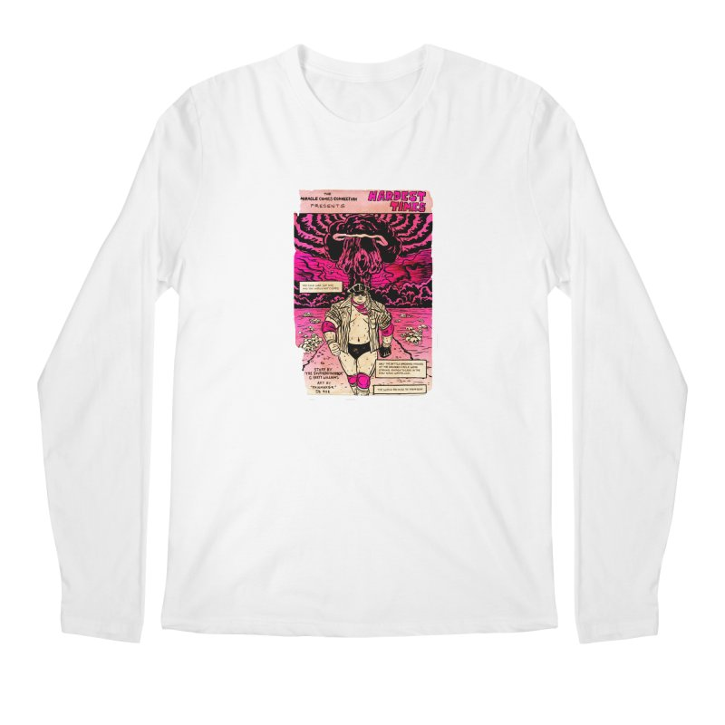 Hardest Times Men's Regular Longsleeve T-Shirt by JB Roe Artist Shop