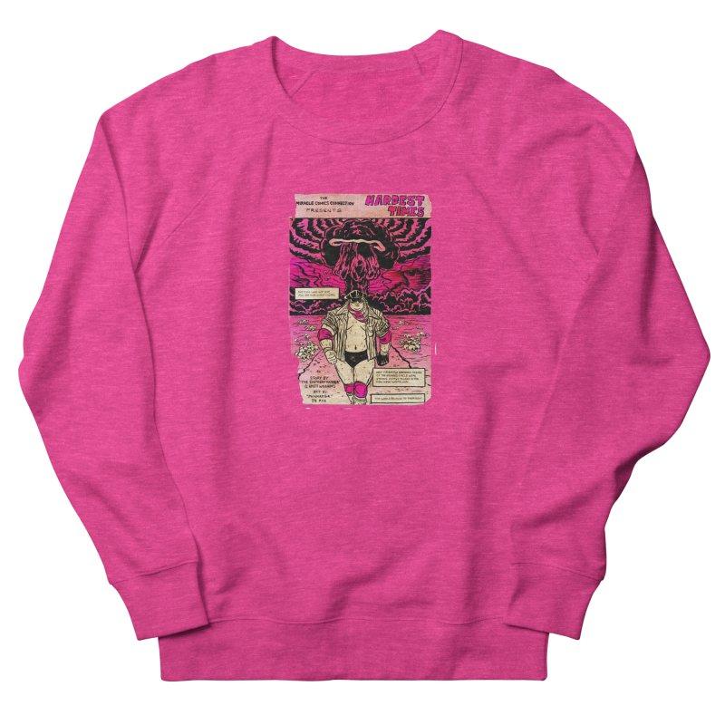 Hardest Times Men's French Terry Sweatshirt by JB Roe Artist Shop