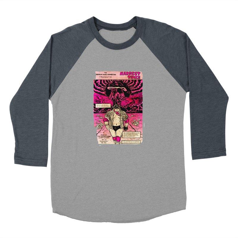 Hardest Times Women's Baseball Triblend Longsleeve T-Shirt by JB Roe Artist Shop