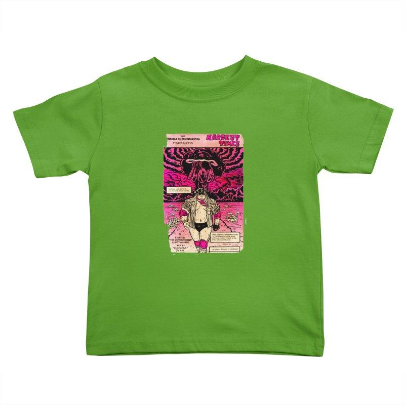 Hardest Times Kids Toddler T-Shirt by JB Roe Artist Shop