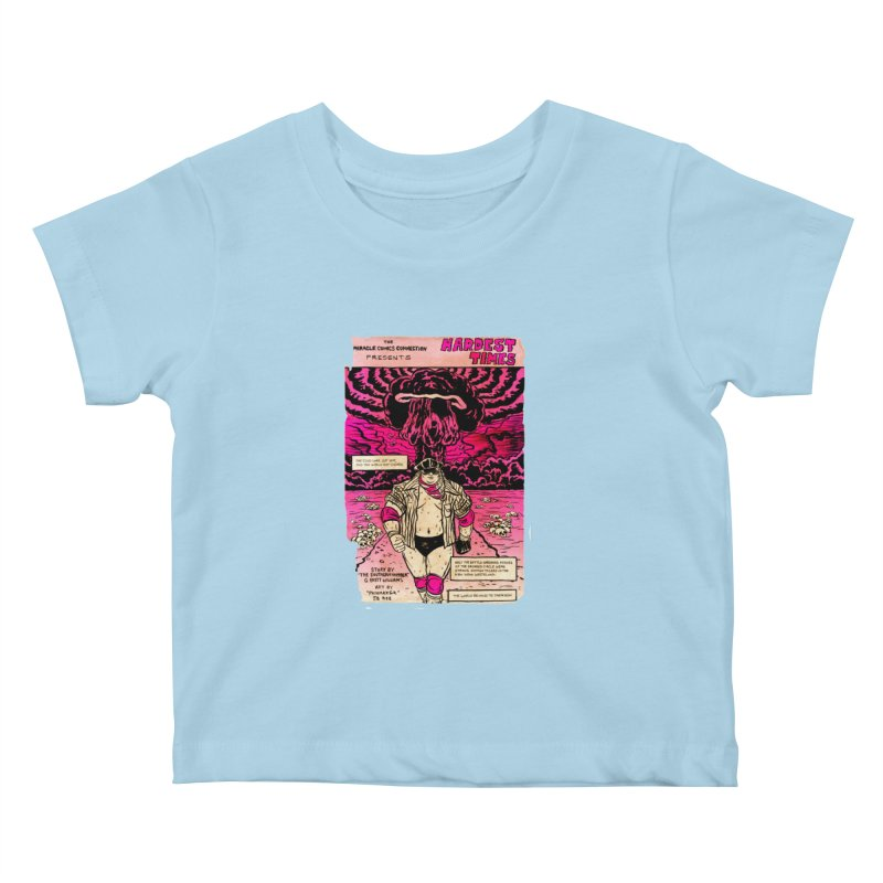 Hardest Times Kids Baby T-Shirt by JB Roe Artist Shop