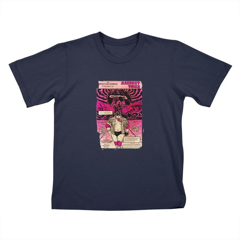Hardest Times Kids T-Shirt by JB Roe Artist Shop