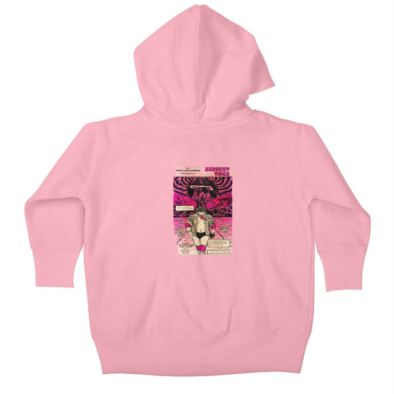 Hardest Times Kids Baby Zip-Up Hoody by JB Roe Artist Shop
