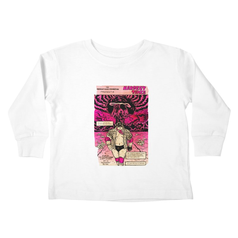 Hardest Times Kids Toddler Longsleeve T-Shirt by JB Roe Artist Shop
