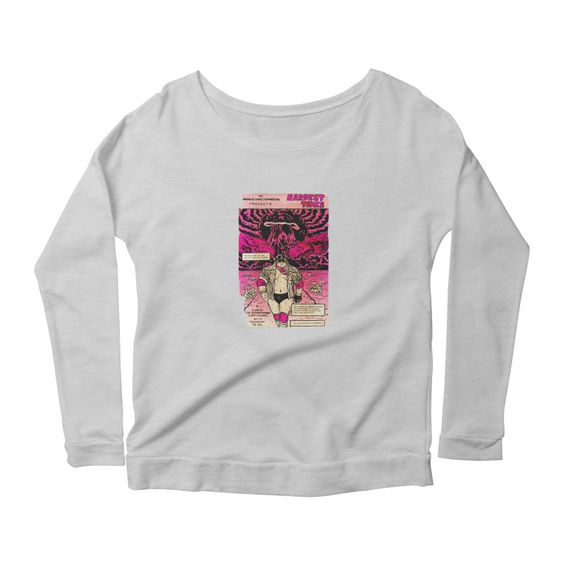 Hardest Times Women's Scoop Neck Longsleeve T-Shirt by JB Roe Artist Shop