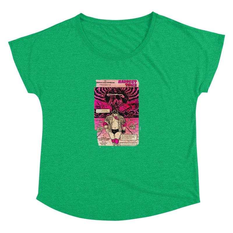 Hardest Times Women's Dolman Scoop Neck by JB Roe Artist Shop