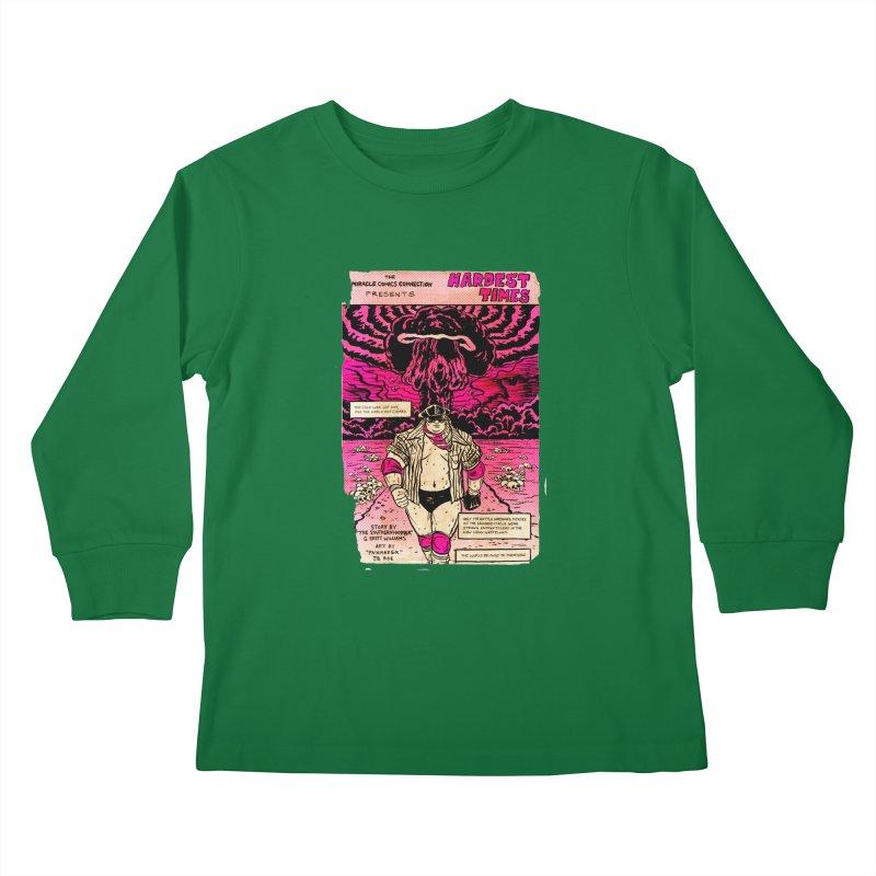 Hardest Times Kids Longsleeve T-Shirt by JB Roe Artist Shop