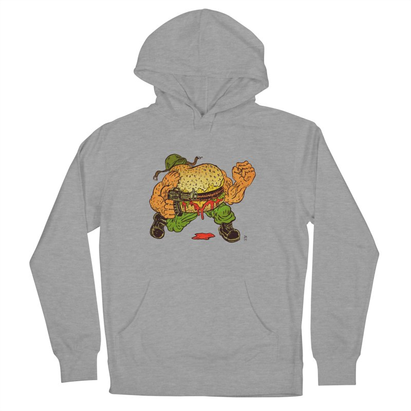 Sgt Angus Women's Pullover Hoody by JB Roe Artist Shop