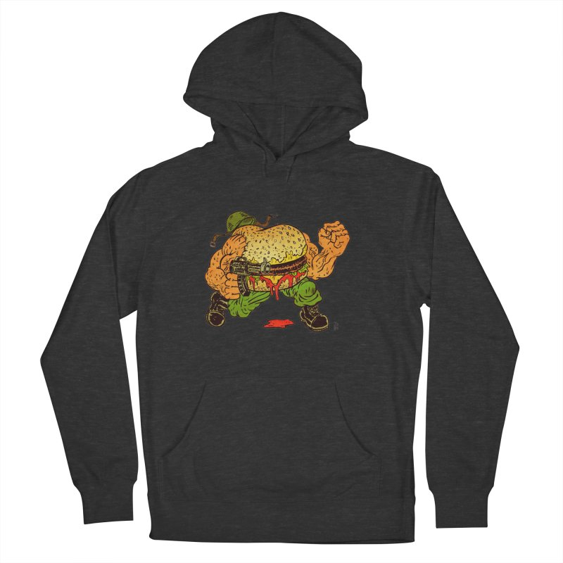 Sgt Angus Women's French Terry Pullover Hoody by JB Roe Artist Shop