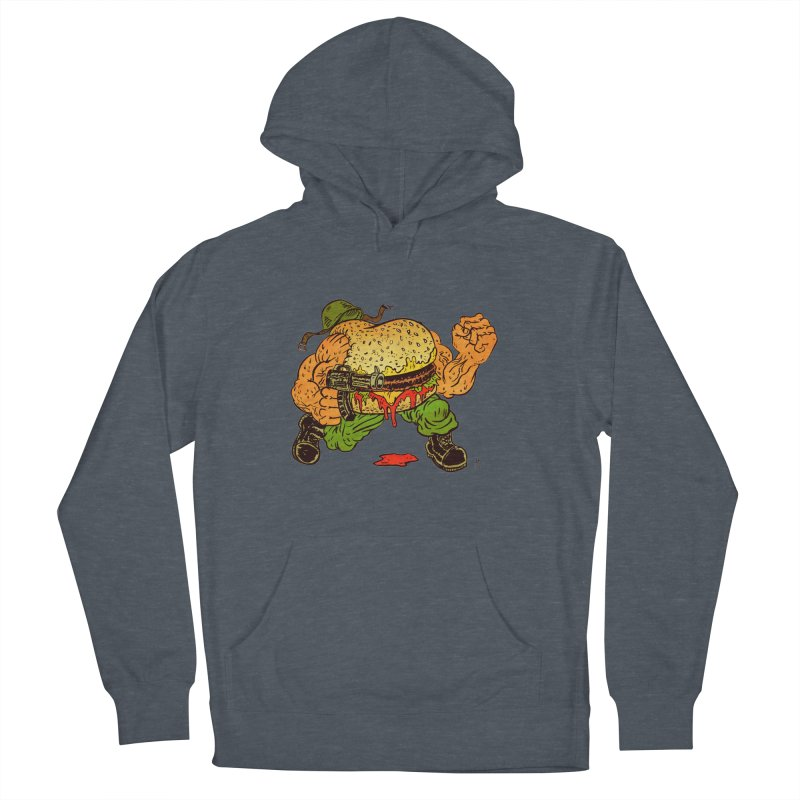 Sgt Angus Men's French Terry Pullover Hoody by JB Roe Artist Shop