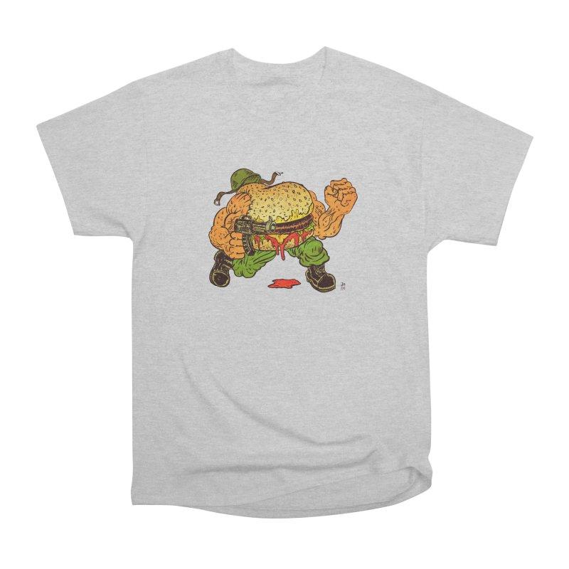 Sgt Angus Women's Heavyweight Unisex T-Shirt by JB Roe Artist Shop