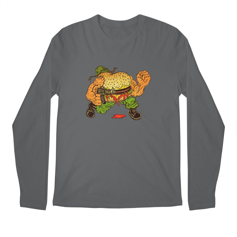 Sgt Angus Men's Regular Longsleeve T-Shirt by JB Roe Artist Shop