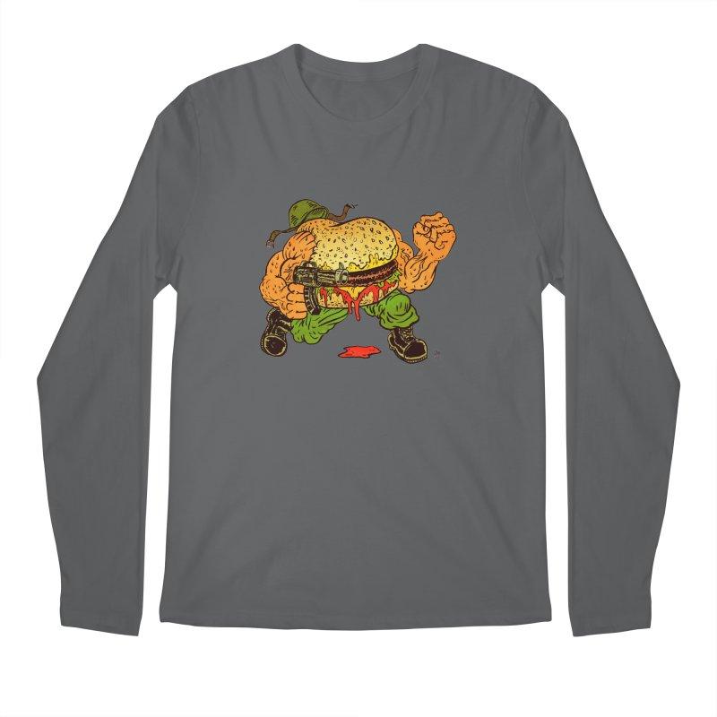 Sgt Angus Men's Longsleeve T-Shirt by JB Roe Artist Shop