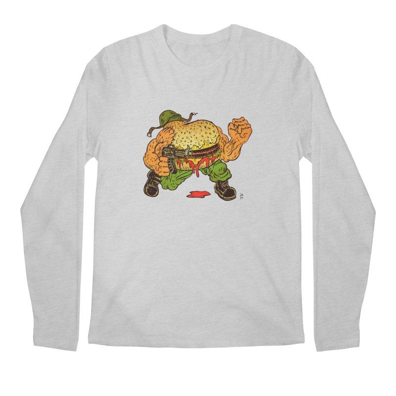 Sgt Angus Men's Regular Longsleeve T-Shirt by JB Roe Artist Shop