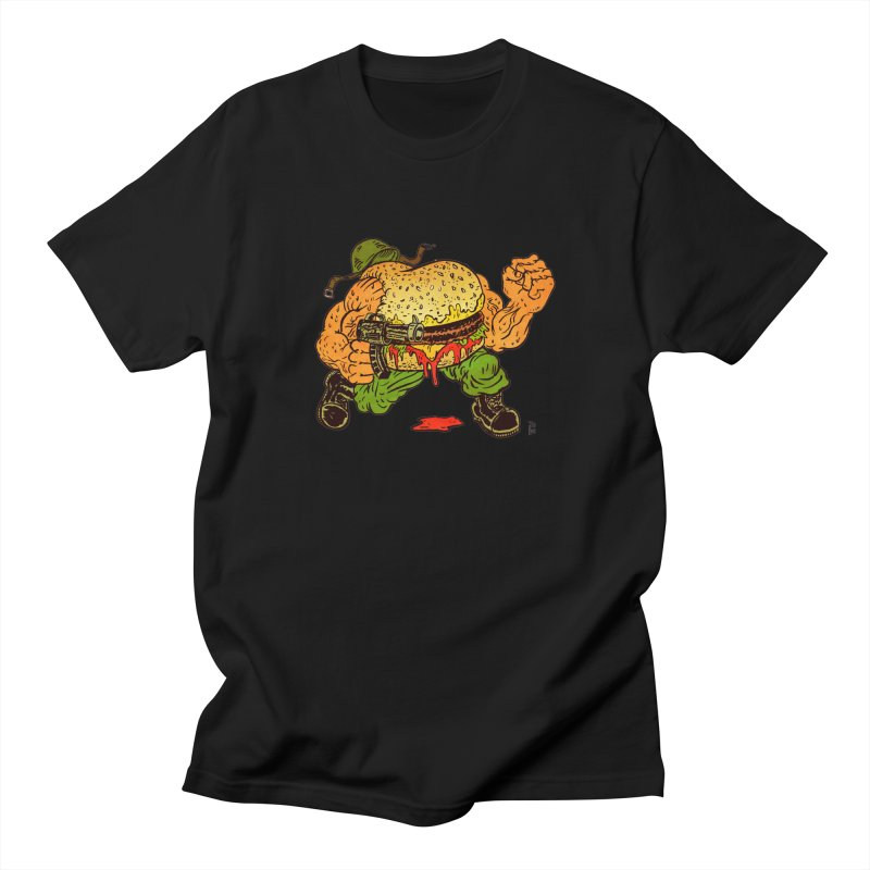 Sgt Angus Men's T-Shirt by JB Roe Artist Shop