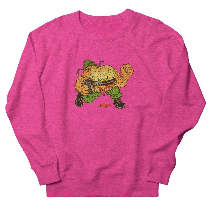 Sgt Angus Women's French Terry Sweatshirt by JB Roe Artist Shop