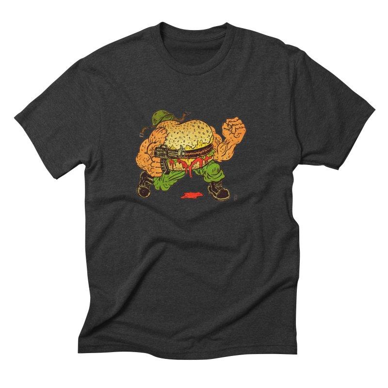 Sgt Angus Men's Triblend T-Shirt by JB Roe Artist Shop