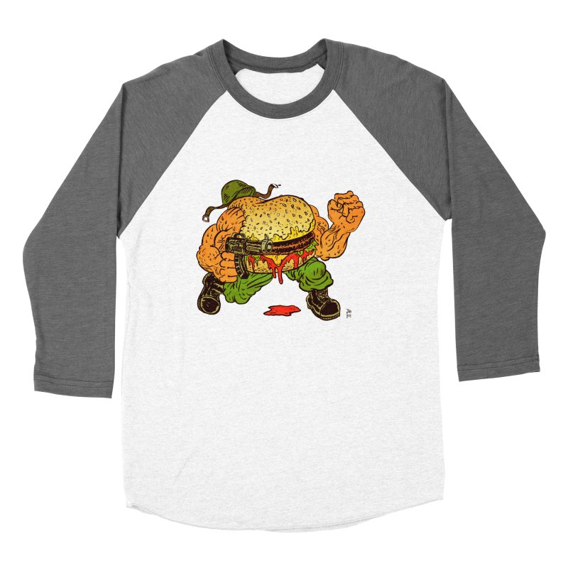 Sgt Angus Women's Baseball Triblend Longsleeve T-Shirt by JB Roe Artist Shop