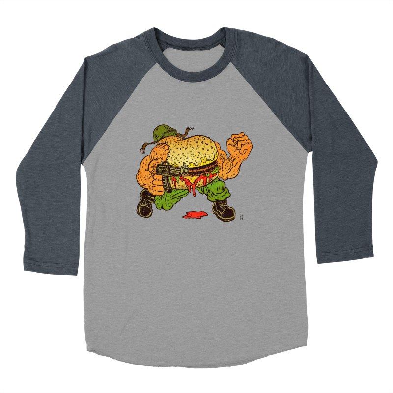 Sgt Angus Men's Baseball Triblend Longsleeve T-Shirt by JB Roe Artist Shop