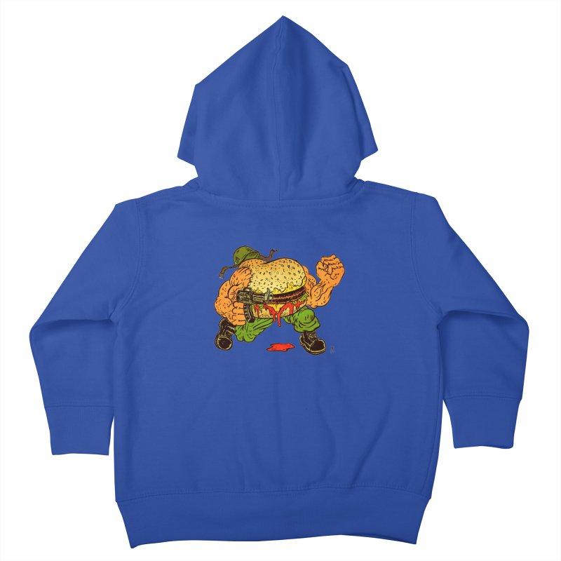 Sgt Angus Kids Toddler Zip-Up Hoody by JB Roe Artist Shop