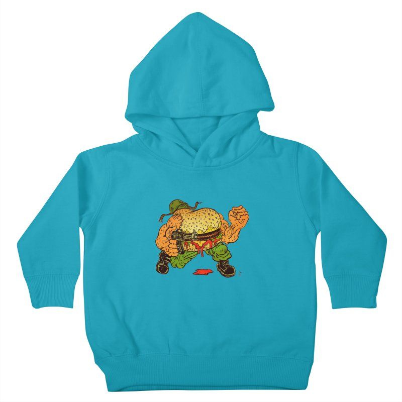 Sgt Angus Kids Toddler Pullover Hoody by JB Roe Artist Shop