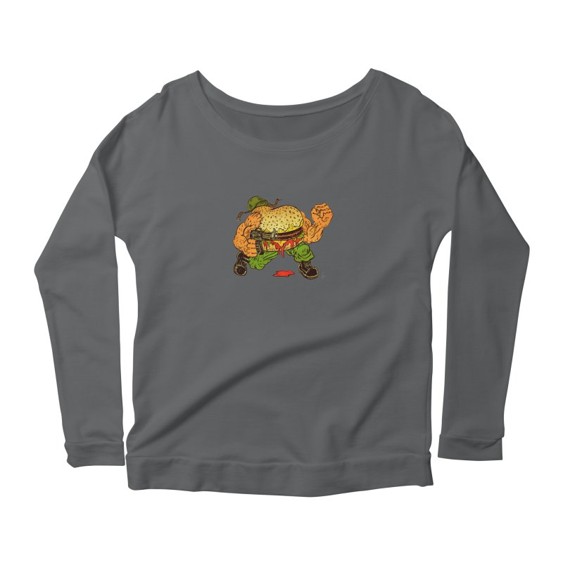 Sgt Angus Women's Scoop Neck Longsleeve T-Shirt by JB Roe Artist Shop