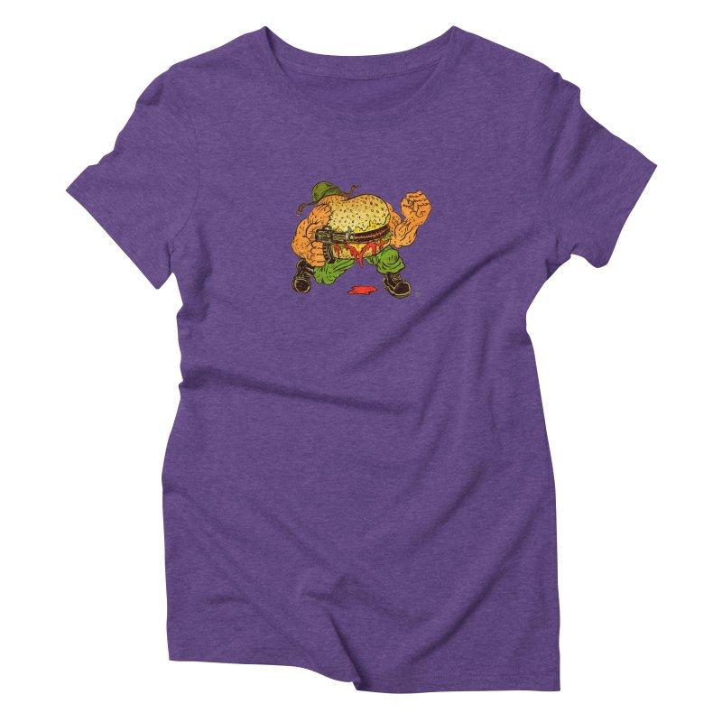 Sgt Angus Women's Triblend T-Shirt by JB Roe Artist Shop