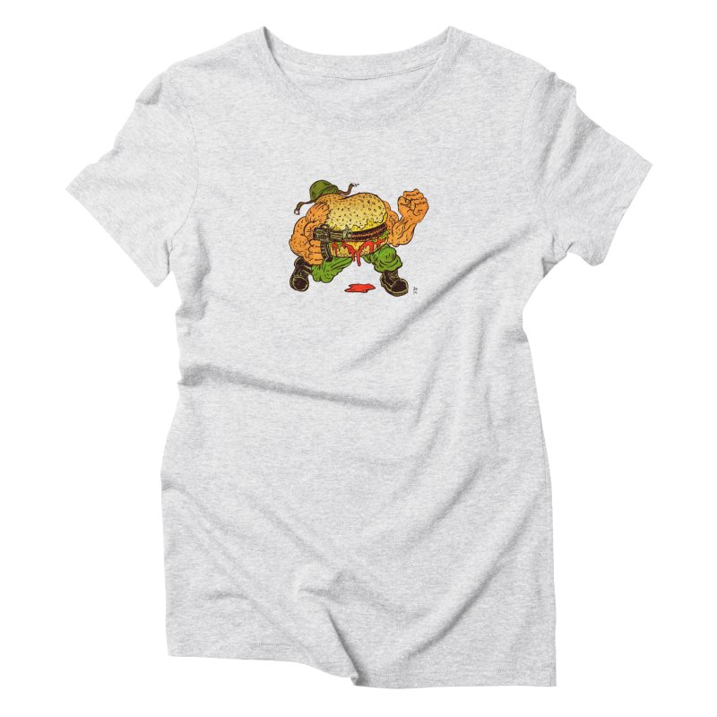 Sgt Angus Women's T-Shirt by JB Roe Artist Shop