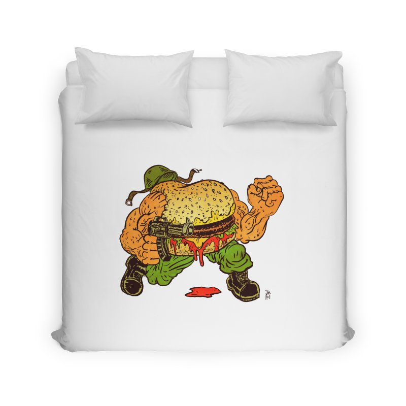 Sgt Angus Home Duvet by JB Roe Artist Shop
