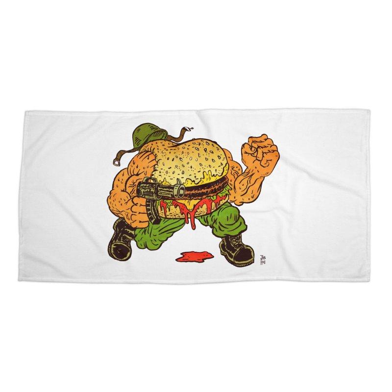 Sgt Angus Accessories Beach Towel by JB Roe Artist Shop