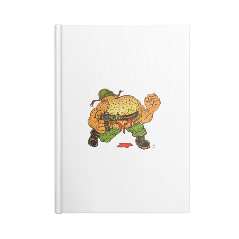 Sgt Angus Accessories Lined Journal Notebook by JB Roe Artist Shop