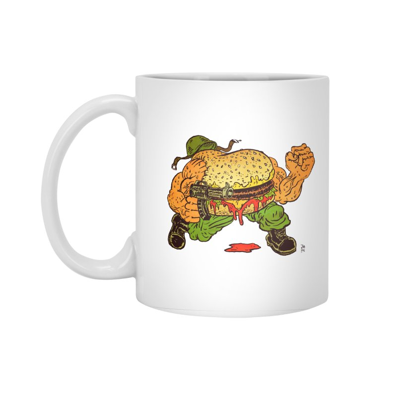 Sgt Angus Accessories Standard Mug by JB Roe Artist Shop
