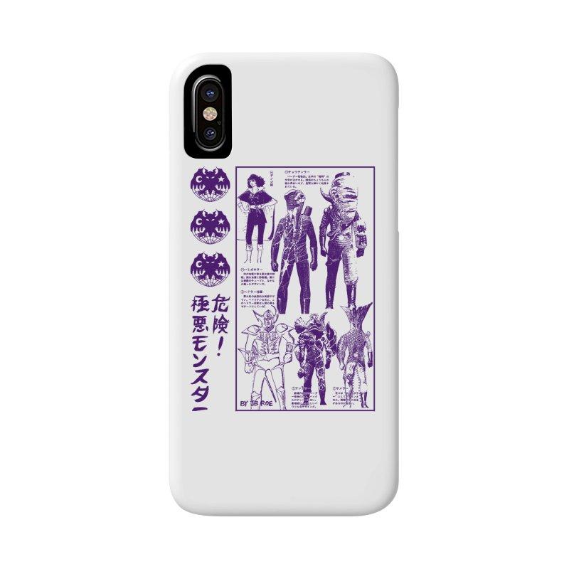 Danger! Villainous Monster! Accessories Phone Case by JB Roe Artist Shop