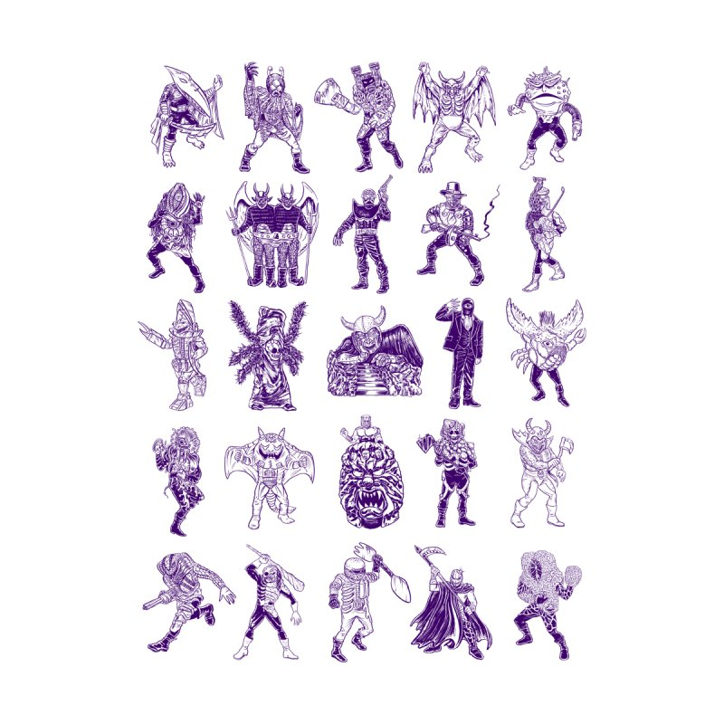 Toku Villains by JB Roe Artist Shop