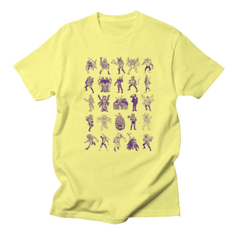 Toku Villains Men's T-Shirt by JB Roe Artist Shop