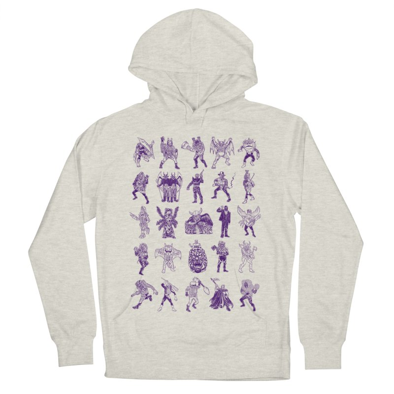 Toku Villains Women's French Terry Pullover Hoody by JB Roe Artist Shop