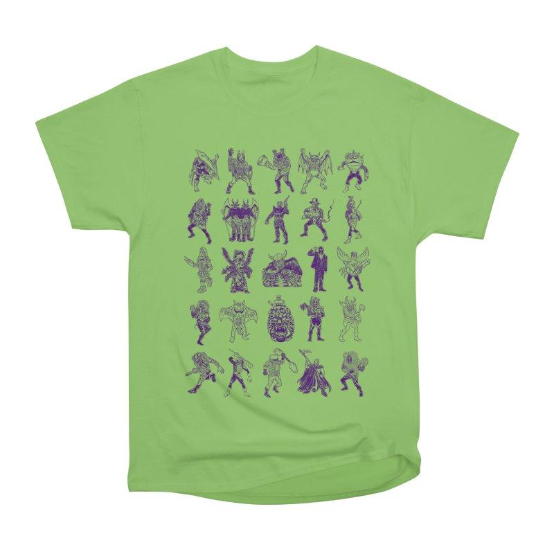 Toku Villains Women's Heavyweight Unisex T-Shirt by JB Roe Artist Shop