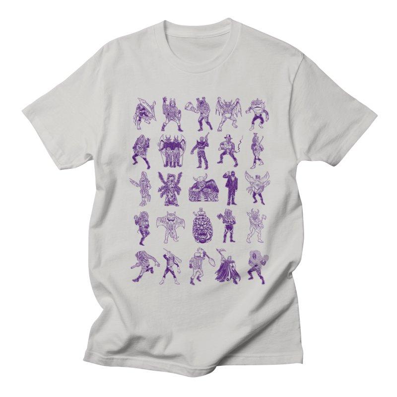 Toku Villains Men's Regular T-Shirt by JB Roe Artist Shop