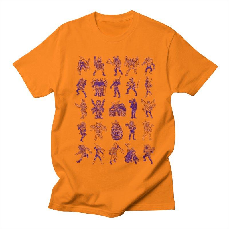 Toku Villains Men's T-Shirt by JB Roe Artist Shop