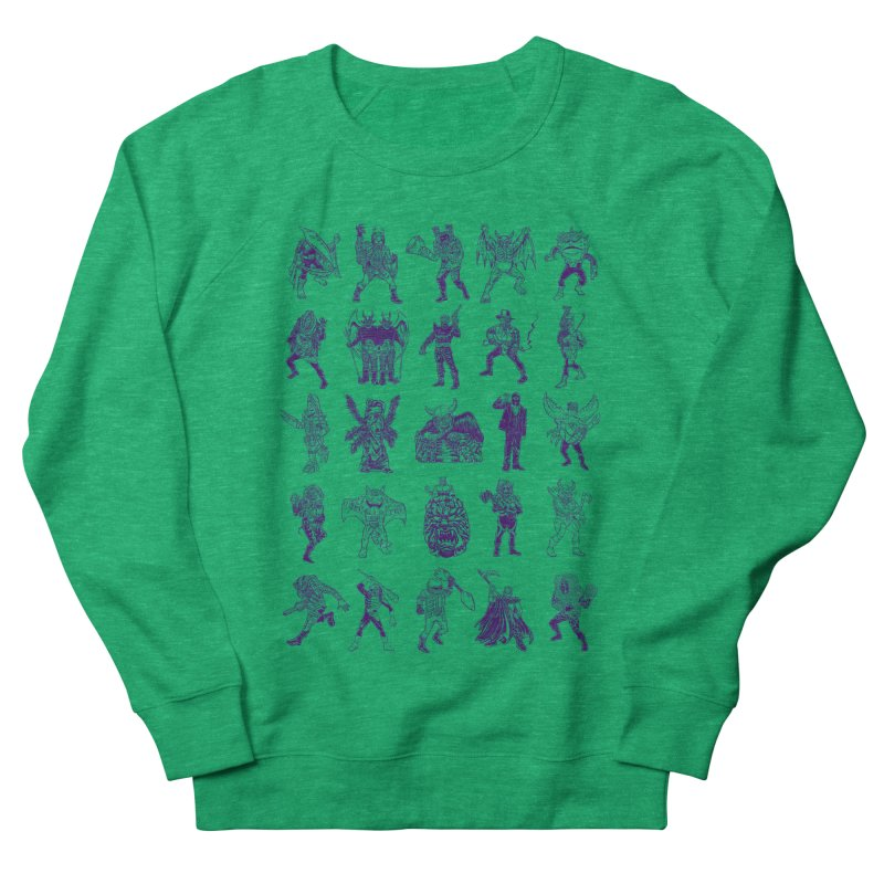 Toku Villains Women's French Terry Sweatshirt by JB Roe Artist Shop