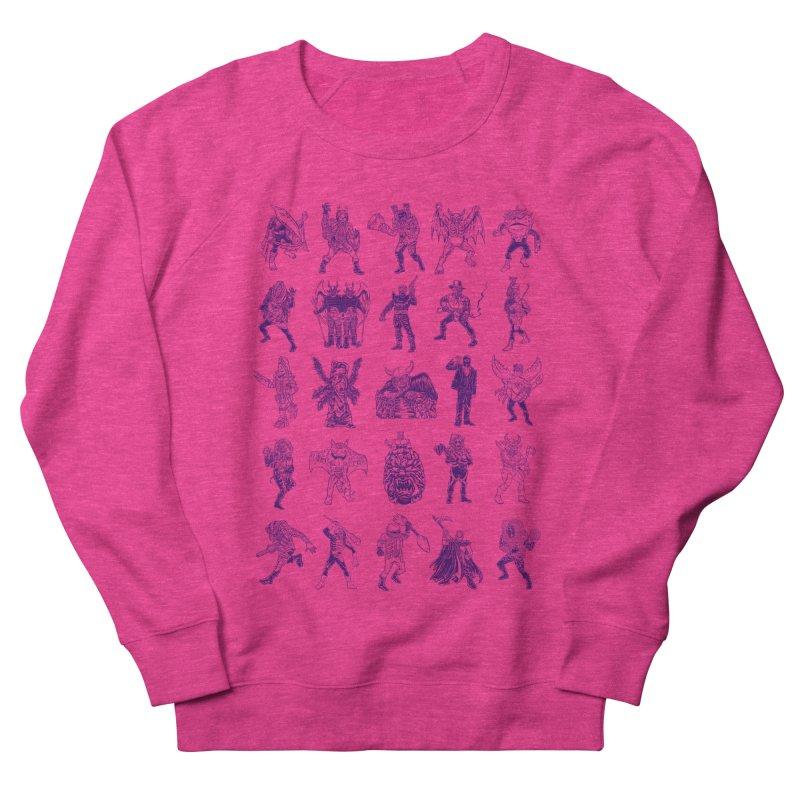 Toku Villains Men's French Terry Sweatshirt by JB Roe Artist Shop